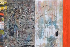 Bettween, techn. mieszana, 80x202 cm, 2011 r._3228