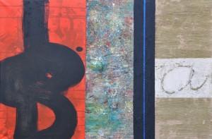 a, techn. mieszana, 81x100 cm, 2011 r.