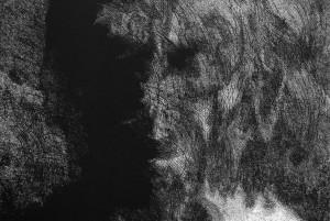 alter ego - linoryt (fragment)