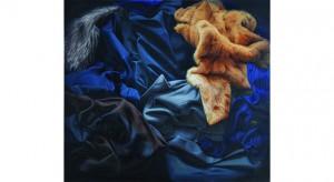 Martyna Borowiecka Materiały, olej, płótno, 115x130 cm
