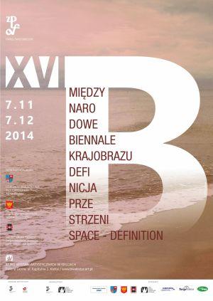 plakat Biennale krajobrazu