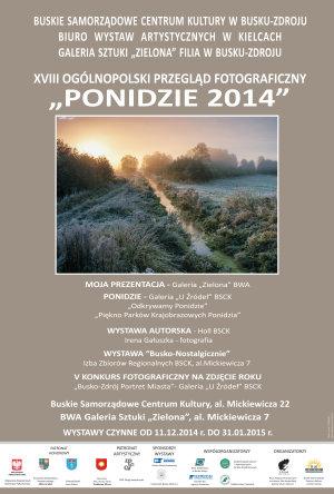 PLAKAT PONIDZIE 2014