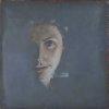 Portret wymazywany III, 2010; olej nap┼éo╠ütnie,40 ├Ś 40 cm