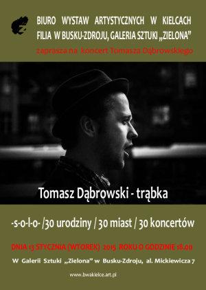 Tomasz Dąbrowski Zaproszenie