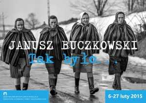 plakat Janusz Buczkowski