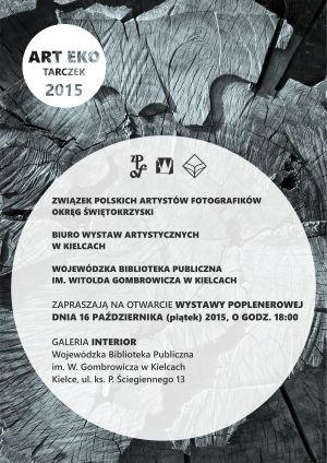 zaproszenie Tarczek 2015 wystawa poplenerowa ZPAF O Ś