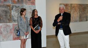 DEegacja na wystawie Gili Abutalebi BWA w KielcachGaleria Dolna