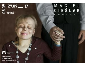 plakat Maciej Cieślak