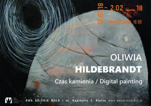 BWA Kielce plakat Oliwia Hildebrandt 12.01.2018