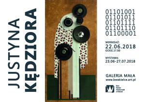 plakat www justyna kędziora