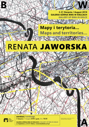BWA-poster-Maps-and-territories Renata Jaworska-Kielce-Poland 2018