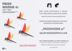 Salon Nagrodzonych 2018, Zaproszenie