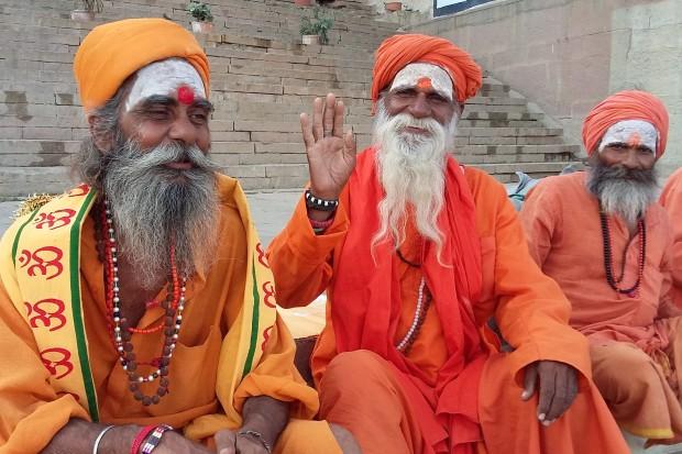 Waranasi - święci mężowie