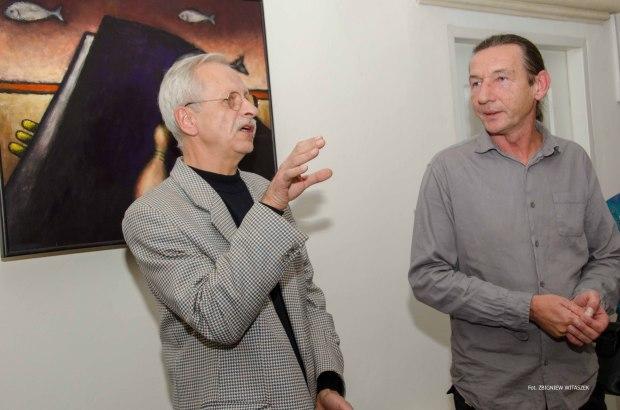 Wystawa malarstwa Bogdana Ptaka zBuska-Zdroju
