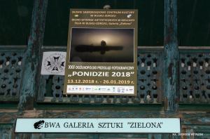 PONIDZIE 2018. Galeria Zielona