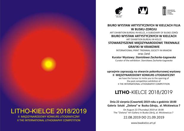 Zaproszenie Litho Kielce 2019_