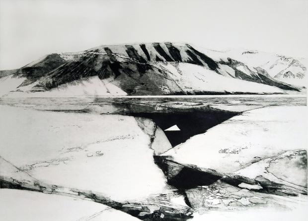 Alina Jackiewicz - Kaczmarek_Spitsbergen III_akwatinta_2019