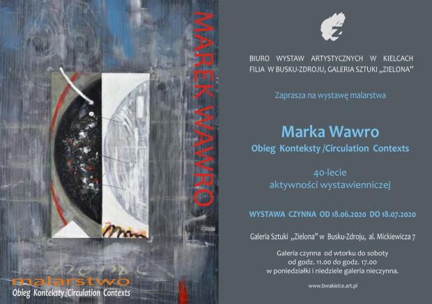 440-2020 Marek Wawro 18.06.2020 r, Zaproszenie