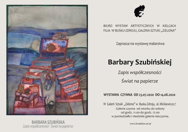 441-2020 Barbara Szubiñska 23.07.20.r, Zaproszenie