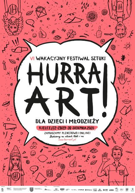 plakat Hurra ART 6