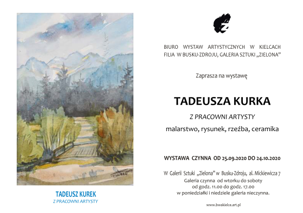 444-2020 Tadeusz Kurek 25.09.20.r, Zaproszenie