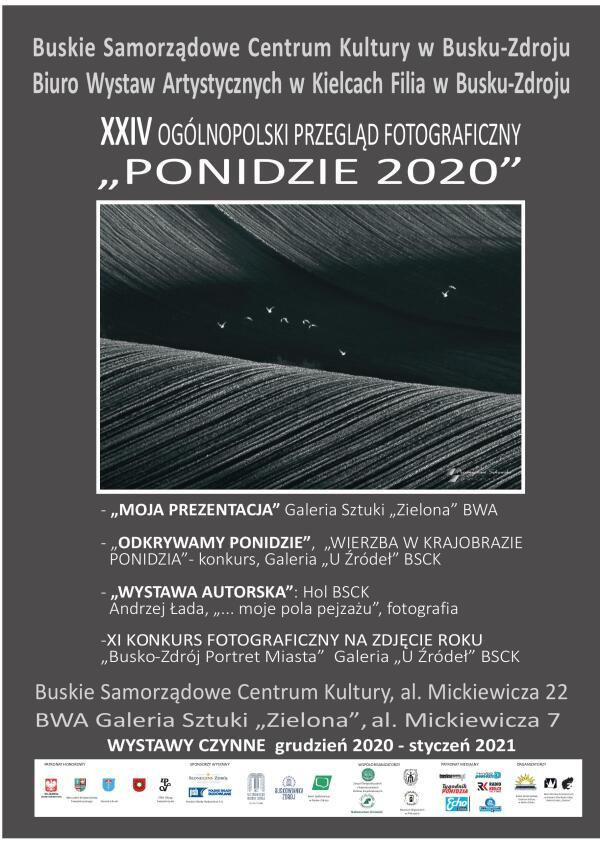 PONIDZIE 2020 PLAKAT