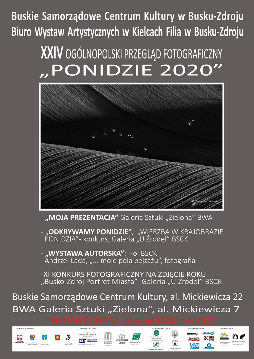 II PLAKAT XXIV OPF PONIDZIE 2020, 2021